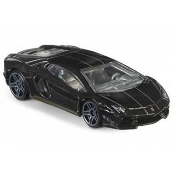 Carrinho Hot Wheels: Lamborghini Aventador Preto
