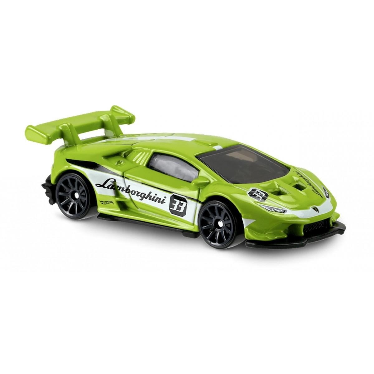 Carrinho Hot Wheels: Lamborghini Huracán LP 620-2 Super Trofeo Verde