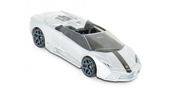 Carrinho Hot Wheels: Lamborghini Reventón Roadster Prata