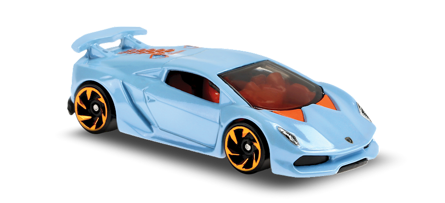 Carrinho Hot Wheels Lamborghini Sesto Elemento (87ZYO) Hw Exotics