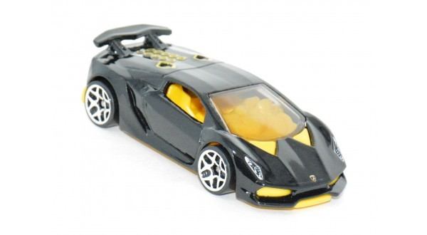 Carrinho Hot Wheels: Lamborghini Sesto Elemento Preto