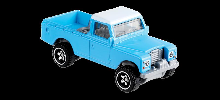 Carrinho Hot Wheels Land Rover Series III Pickup (VZ4O6) - Mattel