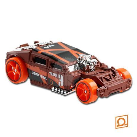 Carrinho Hot Wheels: Lethal Diesel Track Stars - Mattel