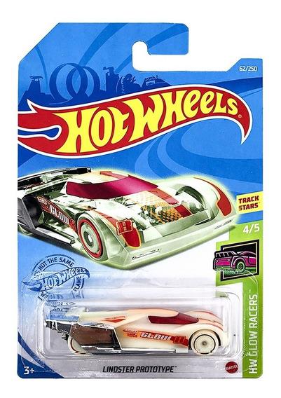 Carrinho Hot Wheels: Lindster Prototype HW Glow Racers - Mattel
