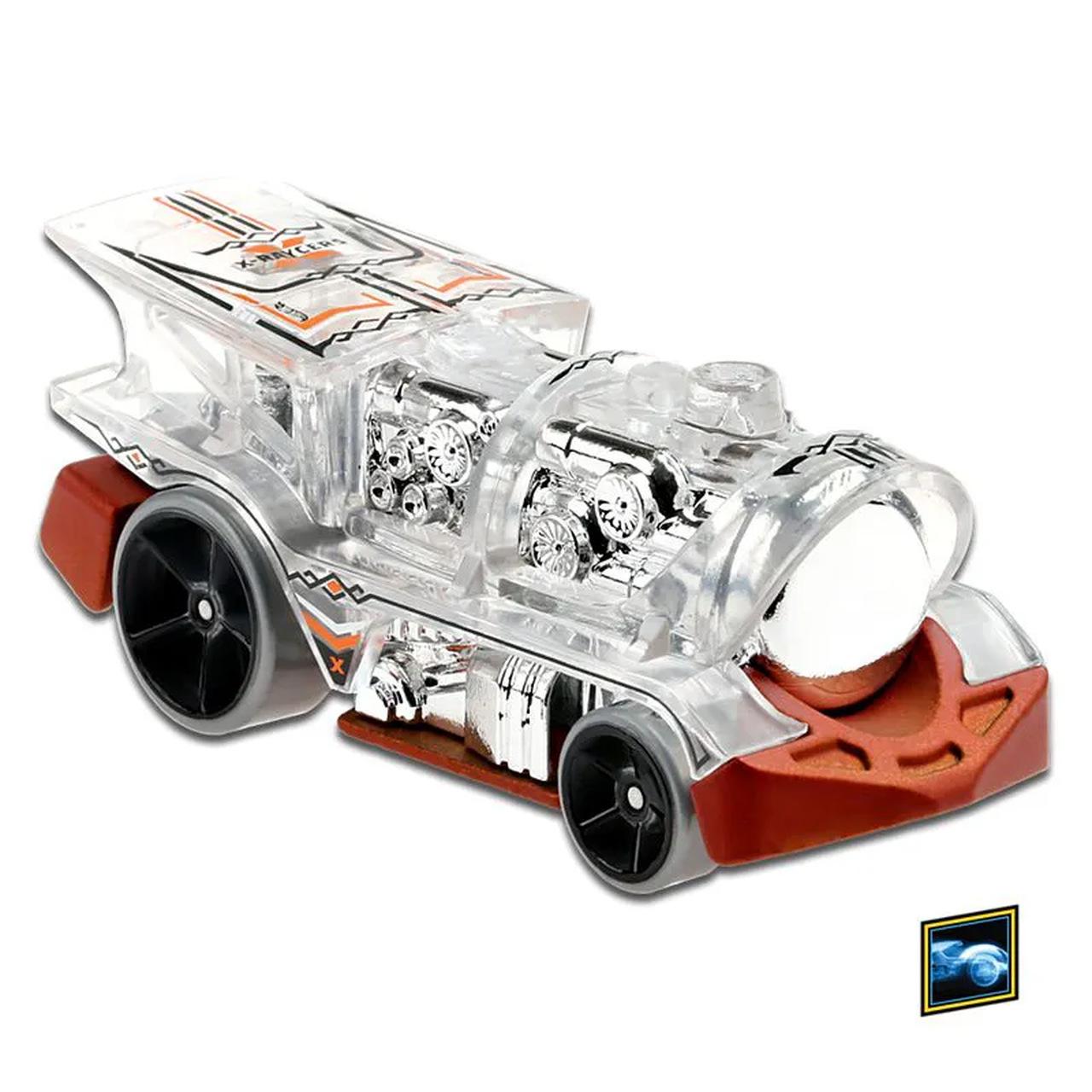 Carrinho Hot Wheels: Loco Motorin X-Raycers - Mattel