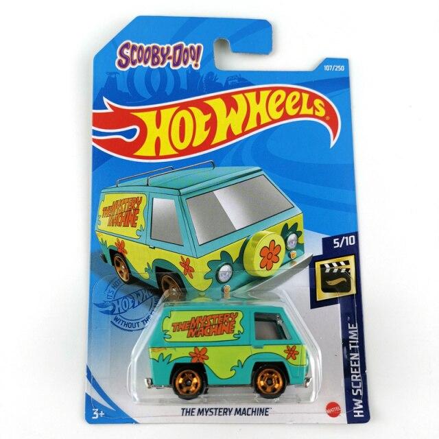 Carrinho Hot Wheels  Maquina Mistério The Mistery Machine Scooby Doo Screen Time - Mattel - MKP