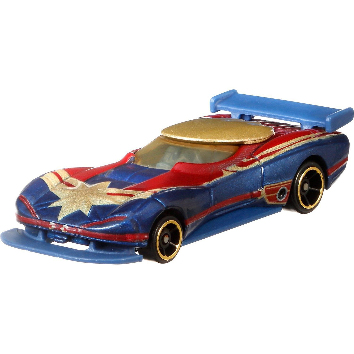 Carrinho Hot Wheels Marvel: Capitã Marvel (Captain Marvel) (FYV04) - Mattel