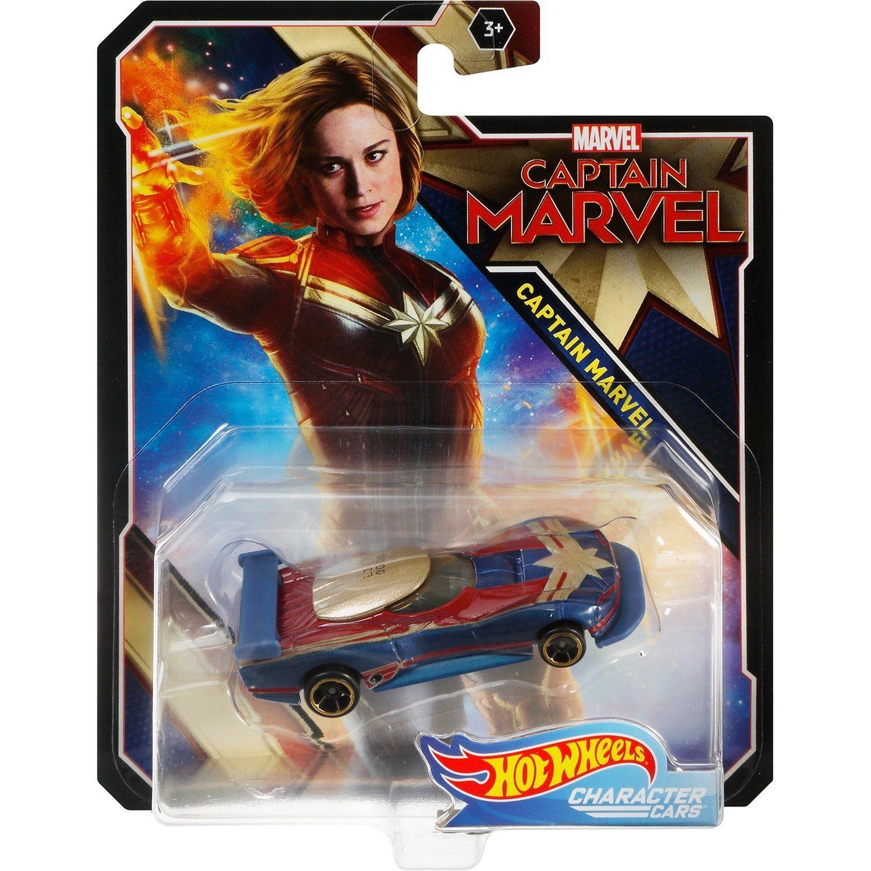 Carrinho Hot Wheels Marvel: Capitã Marvel (Captain Marvel) (FYV04) - Mattel