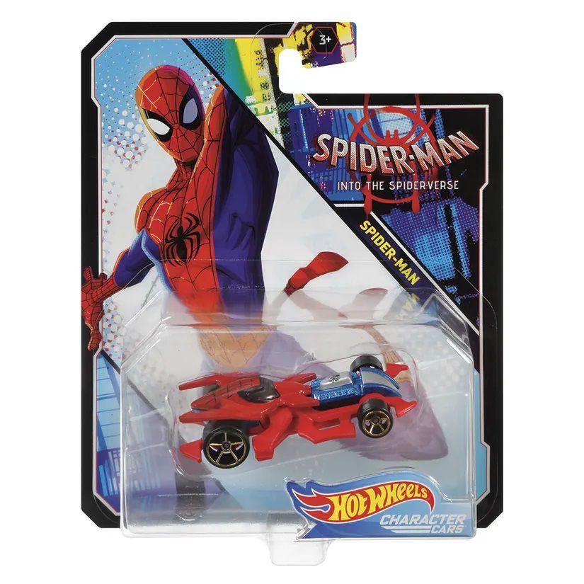 Carrinho Hot Wheels Marvel: Homem-Aranha No Aranha-Verso (Spider-Man Into The Spider-Verse) - Mattel