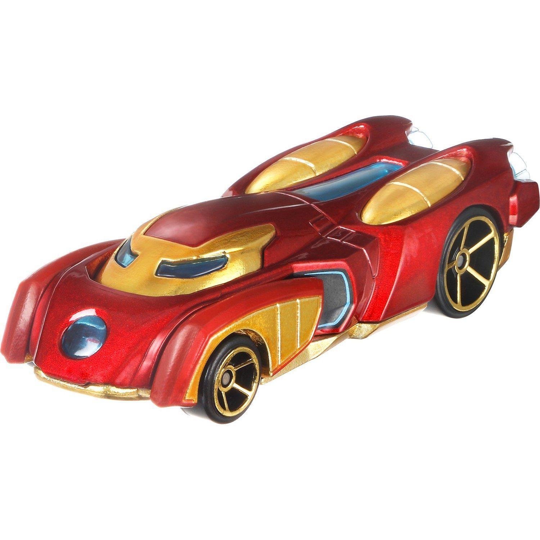 Carrinho Hot Wheels Marvel: Homem de Ferro (Iron Man) (GFN20) - Mattel