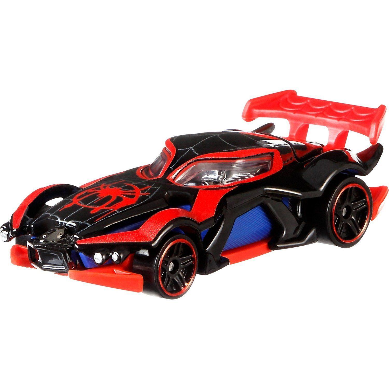 Carrinho Hot Wheels Marvel: Miles Morales (Homem-Aranha) (GFN11) - Mattel