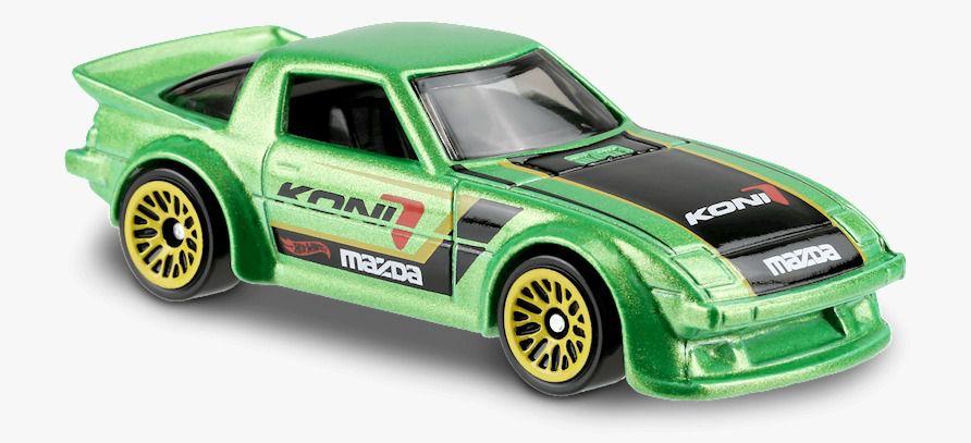 Carrinho Hot Wheels: Mazda RX-7 (OVZ6S) - Mattel