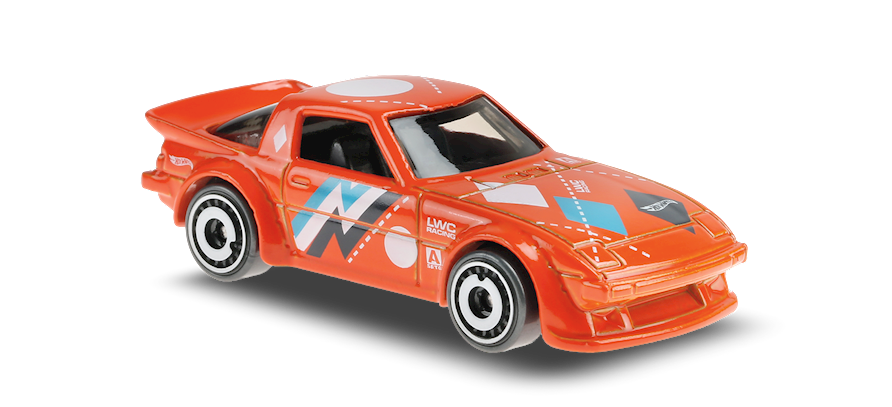 Carrinho Hot Wheels: Mazda RX-7 - ( Speed Blur ) - 78KH5