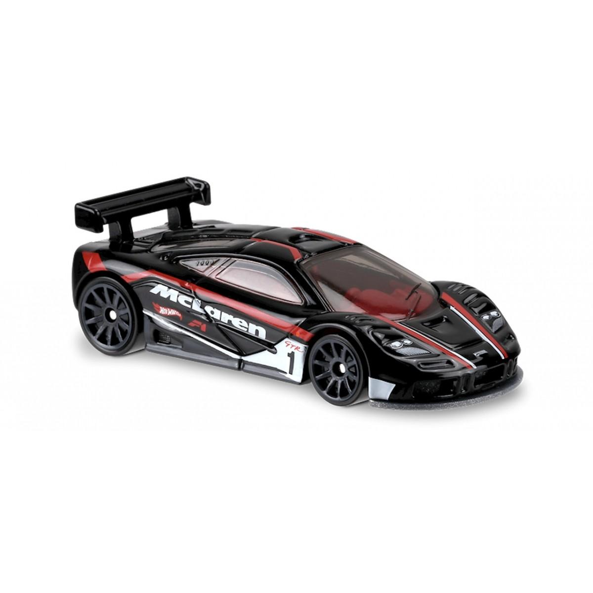 Carrinho Hot Wheels: McLaren F1 GTR Preto