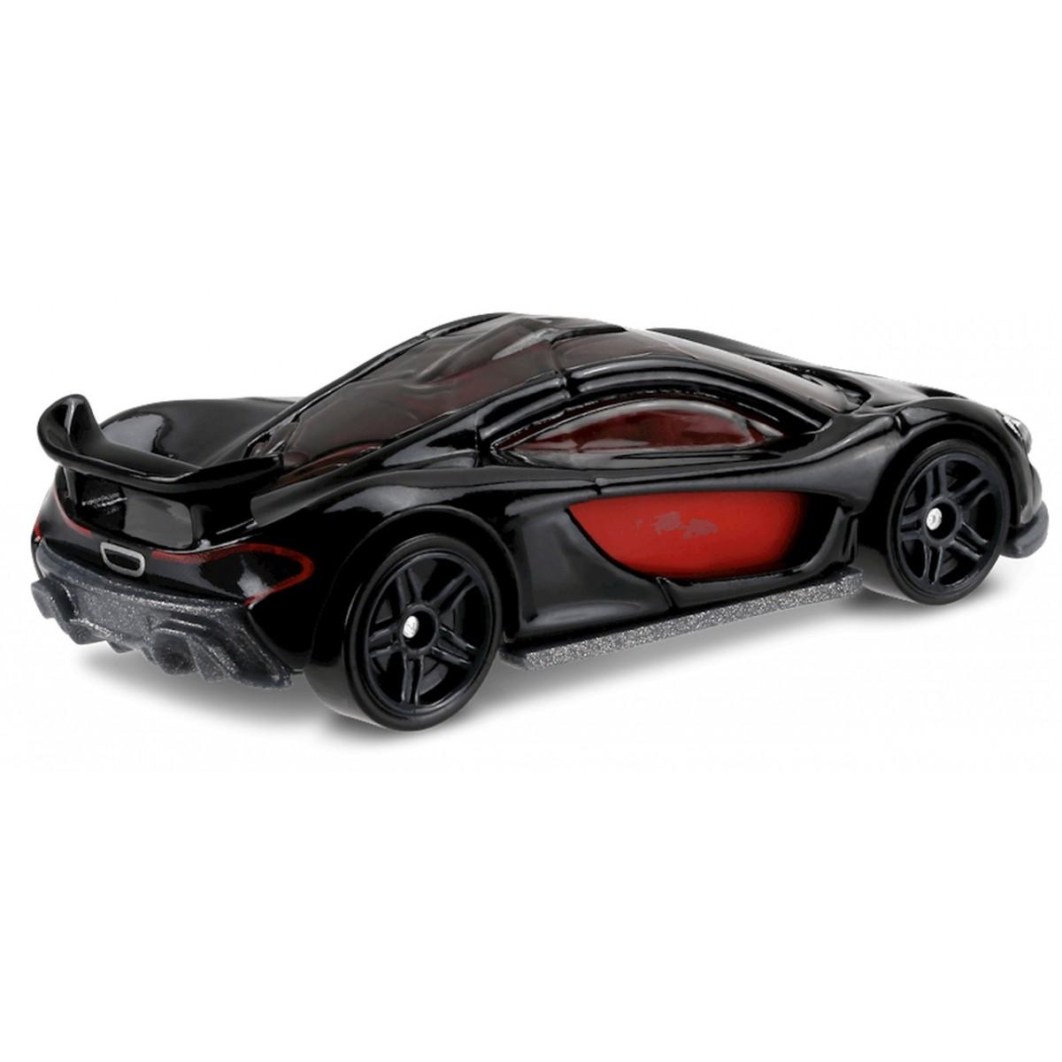 Carrinho Hot Wheels: McLaren P1 Preto