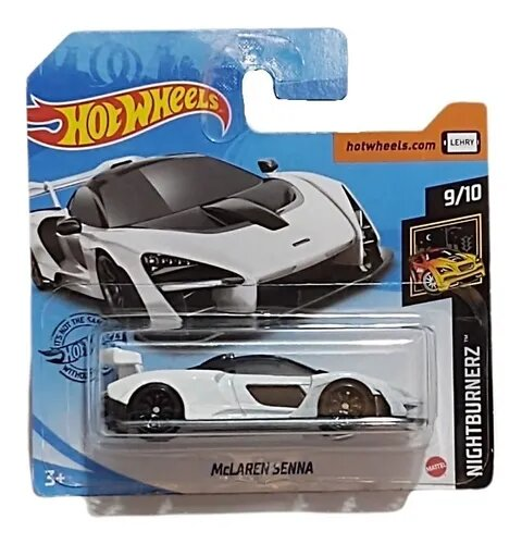 Carrinho Hot Wheels McLaren Senna (LEHRY) Night Brunerz - Mattel