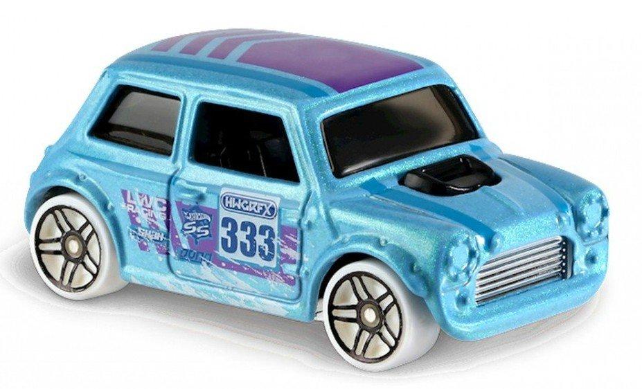 Carrinho Hot Wheels: Morris Mini Azul