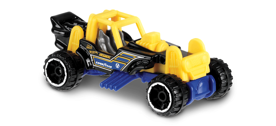 Carrinho Hot Wheels Mountain Mauler (H7PZR) - Mattel