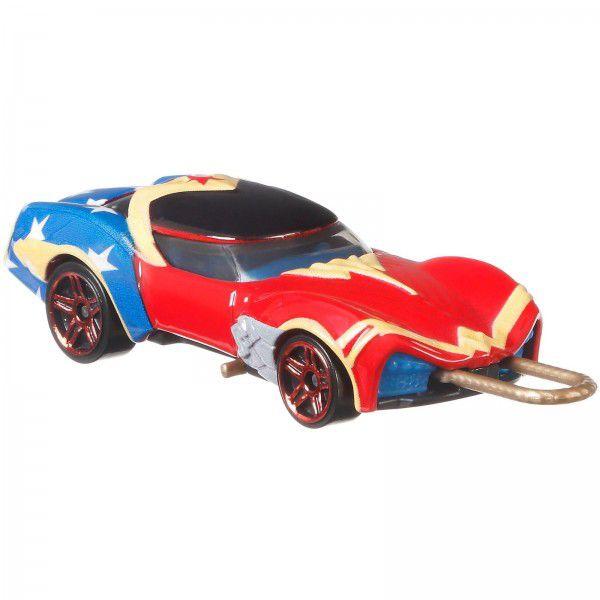Carrinho Hot Wheels Mulher-Maravilha: DC Comics - Mattel