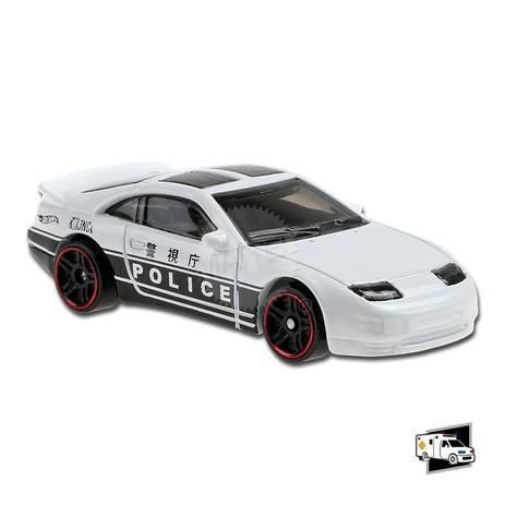 Carrinho Hot Wheels Nissan 300ZX Twin Turbo (7IIGR) Hw Rescue - Mattel