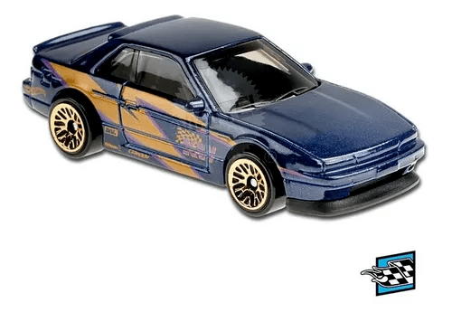 Carrinho Hot Wheels Nissan Silvia (S13) Azul (O3K5F) HW Speed Graphics - Mattel