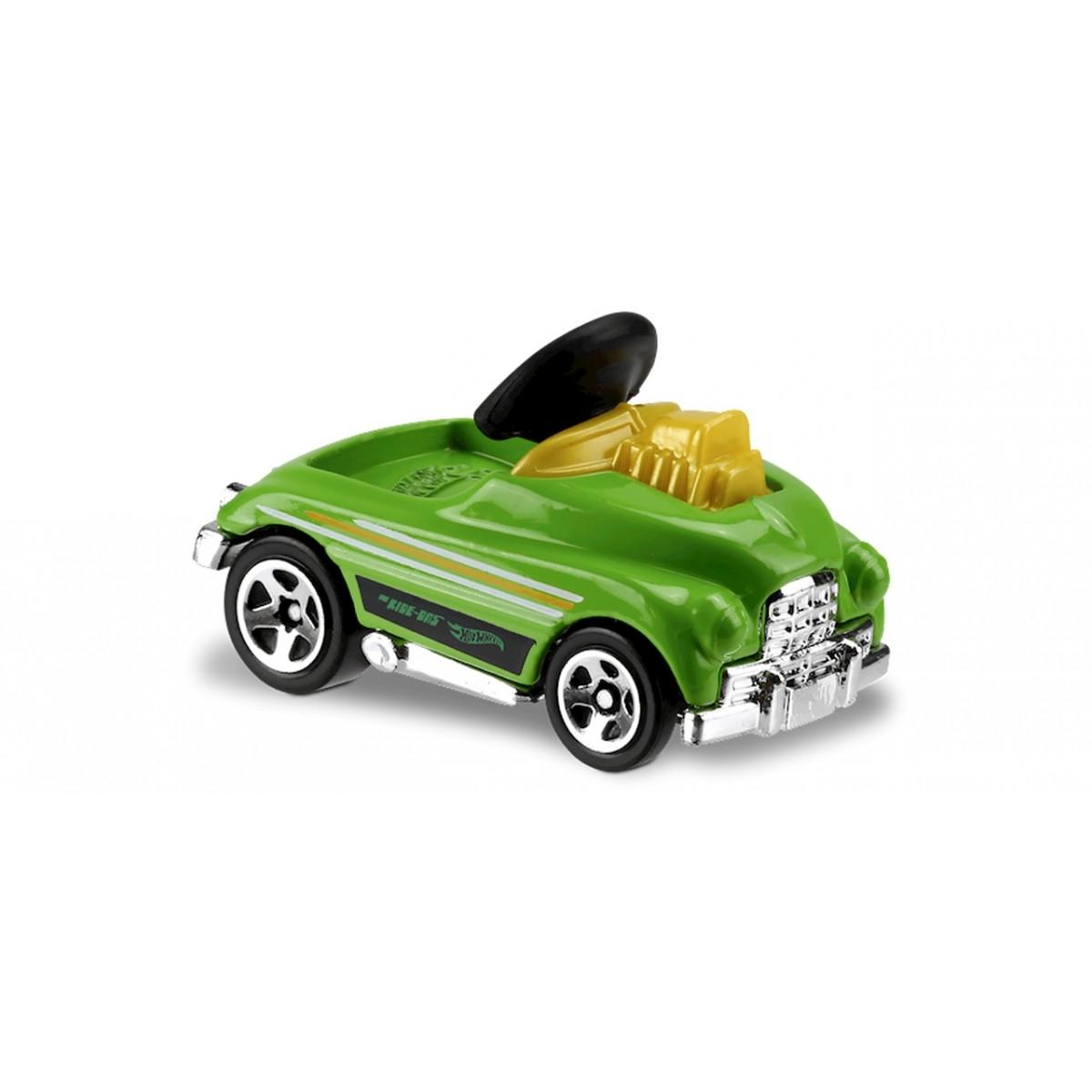 Carrinho Hot Wheels: Pedal Driver Verde