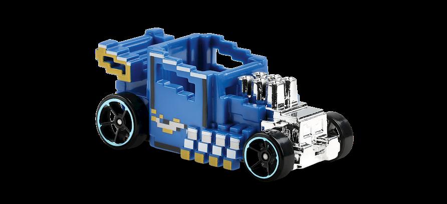 Carrinho Hot Wheels Pixel Shaker (1NCNF) HW Ride-Ons