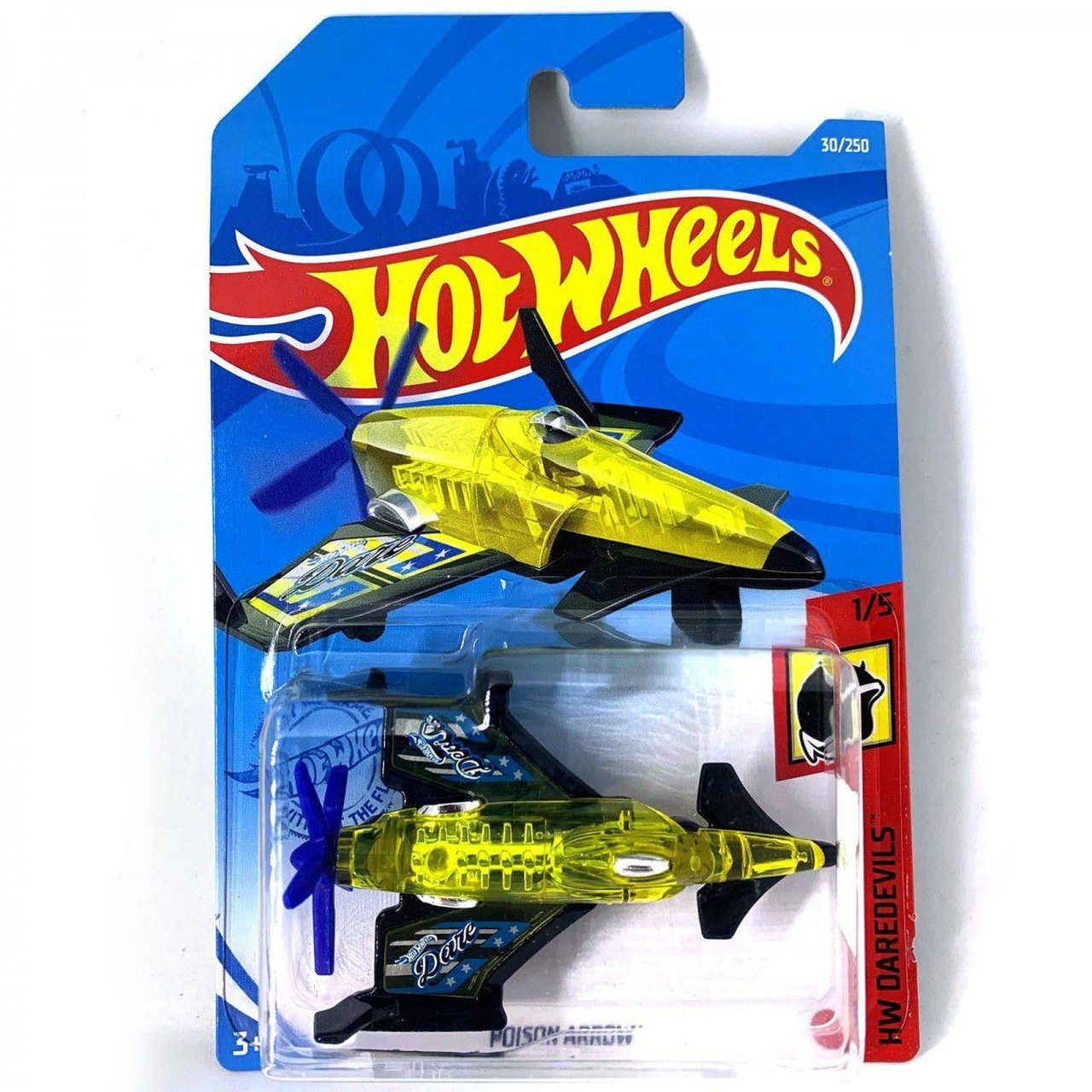 Carrinho Hot Wheels Poison Arrow HW Daredevils - Mattel