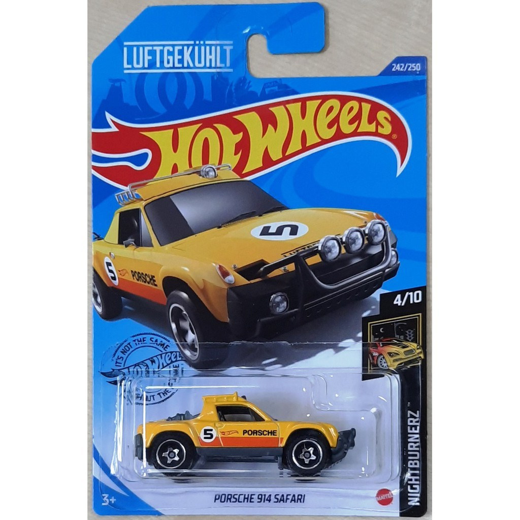 Carrinho Hot Wheels Porsche 914 Safari (GDUWB) NightBurnerz - Mattel