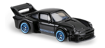 Carrinho Hot Wheels: Porsche 934.5 Preto