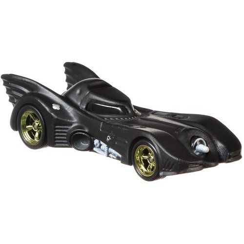 Carrinho Hot Wheels Premium Batmóvel (Batmobile): The Batman (GFT04) - Mattel