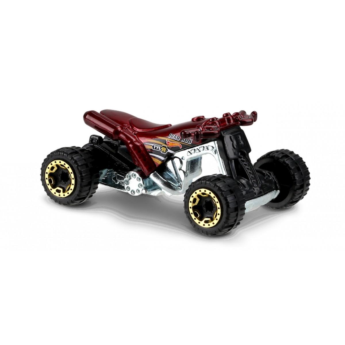 Carrinho Hot Wheels: Quad Rod (Quadriciclo) Vermelho