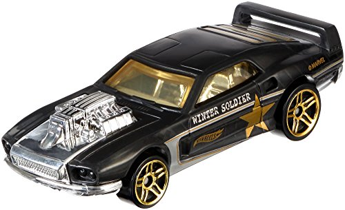 Carrinho Hot Wheels: Rivited: Soldado Invernal Preto