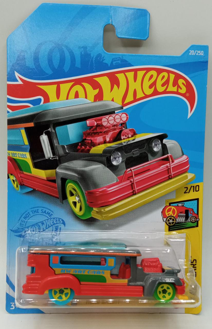 Carrinho Hot Wheels: Road Bandit HW Art Cars - Mattel