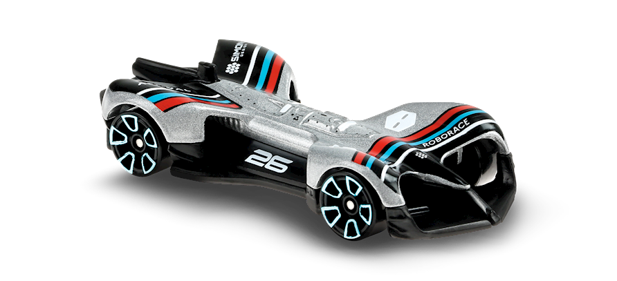 Carrinho Hot Wheels Roborace Robocar (F5ENT) Speed Blur