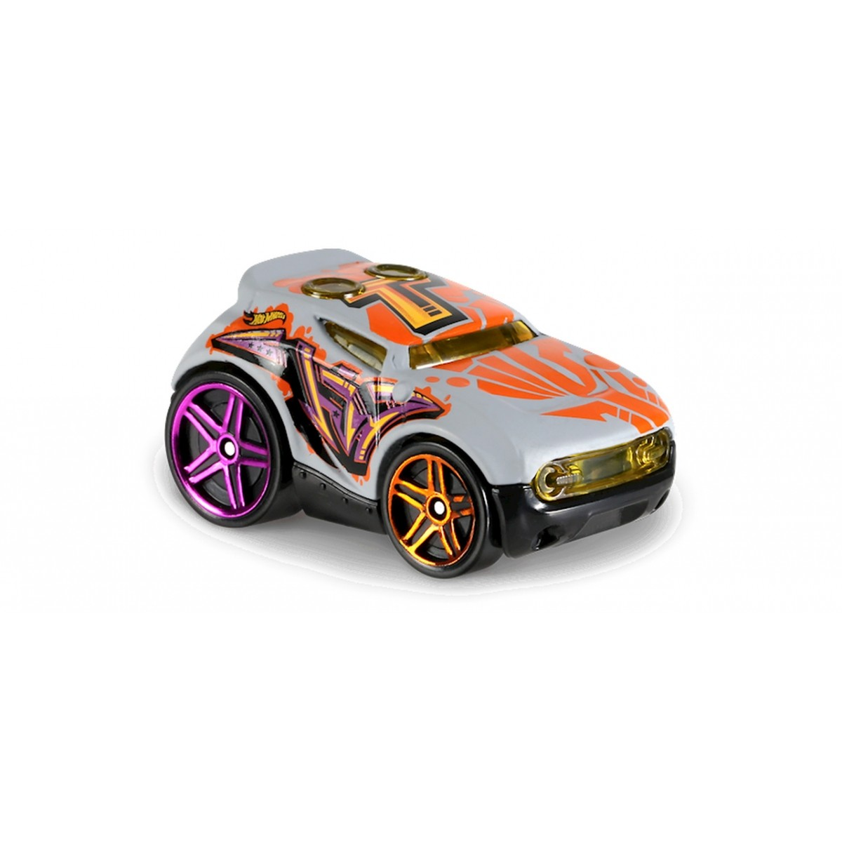Carrinho Hot Wheels: Rocket Box Cinza