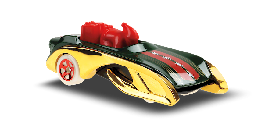 Carrinho Hot Wheels: Rockin' Santa Sled - ( Experimotors ) - YZCM4