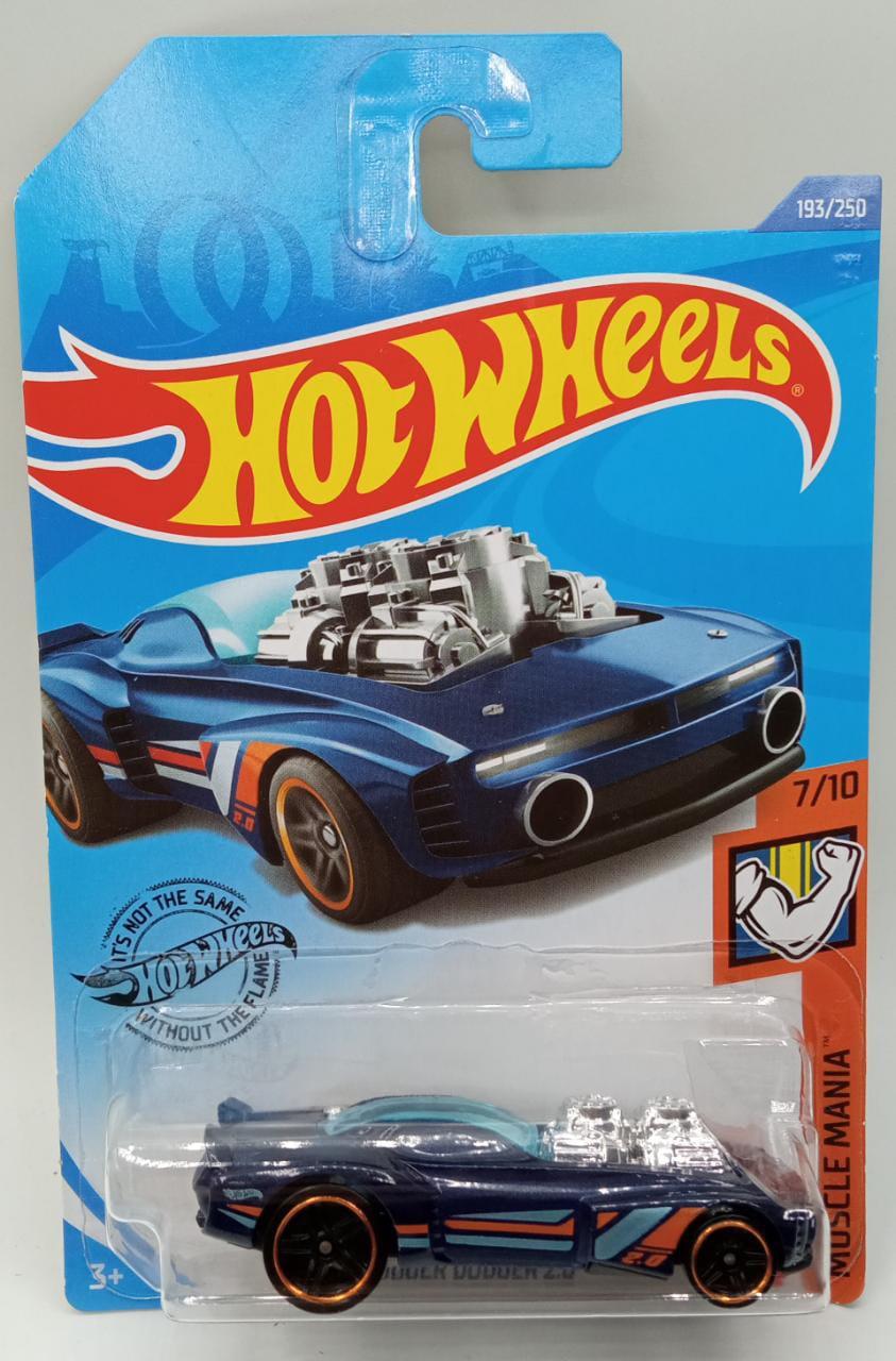 Carrinho Hot Wheels: Rodger Dodger 2.0 (IEDT9) Muscle Mania - Mattel