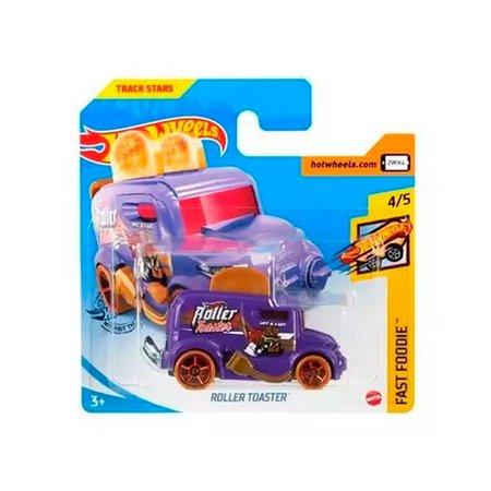 Carrinho Hot Wheels Roller Toaster (ZWIK4) Fast Foodie - Mattel