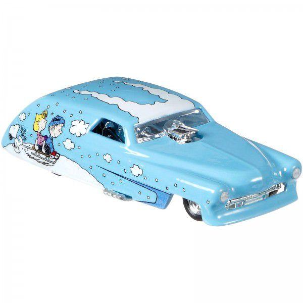 Carrinho Hot Wheels Rolling Thunder: Snoopy (Peanuts) - Mattel
