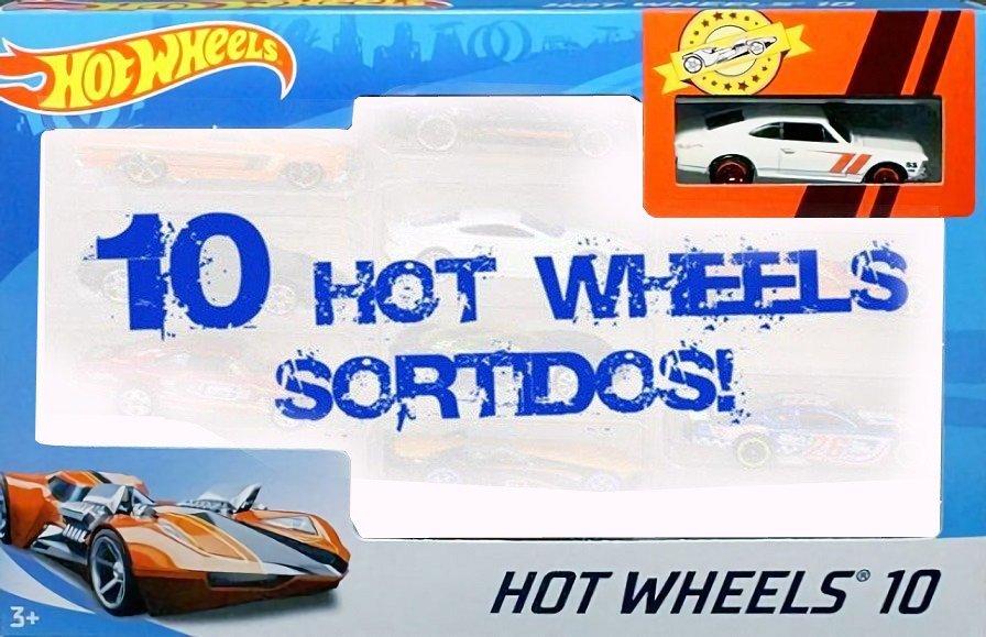 Carrinho Hot Wheels (Set com 10 Carros Sortidos)