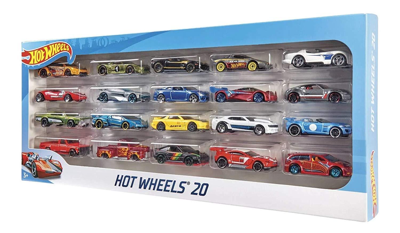 Carrinho Hot Wheels (Set com 20 Carros Sortidos) - Hot Wheels