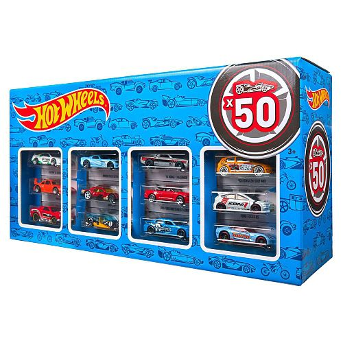 Carrinho Hot Wheels (Set com 50 Carros Sortidos) - Hot Wheels