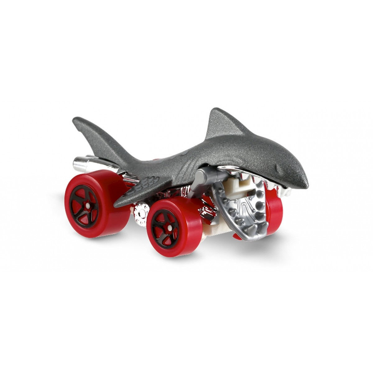 Carrinho Hot Wheels: Shark Bite Prateado