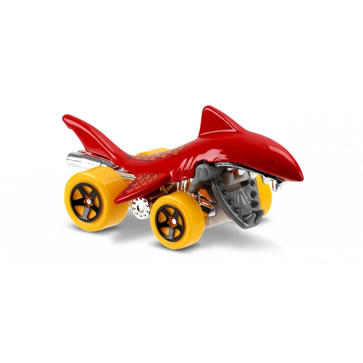 Carrinho Hot Wheels: Shark Bite Vermelho