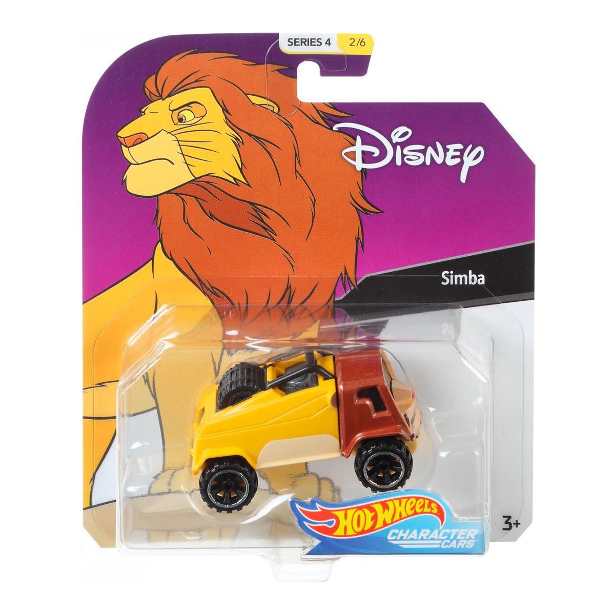 Carrinho Hot Wheels Simba: Disney (Series4) - Mattel