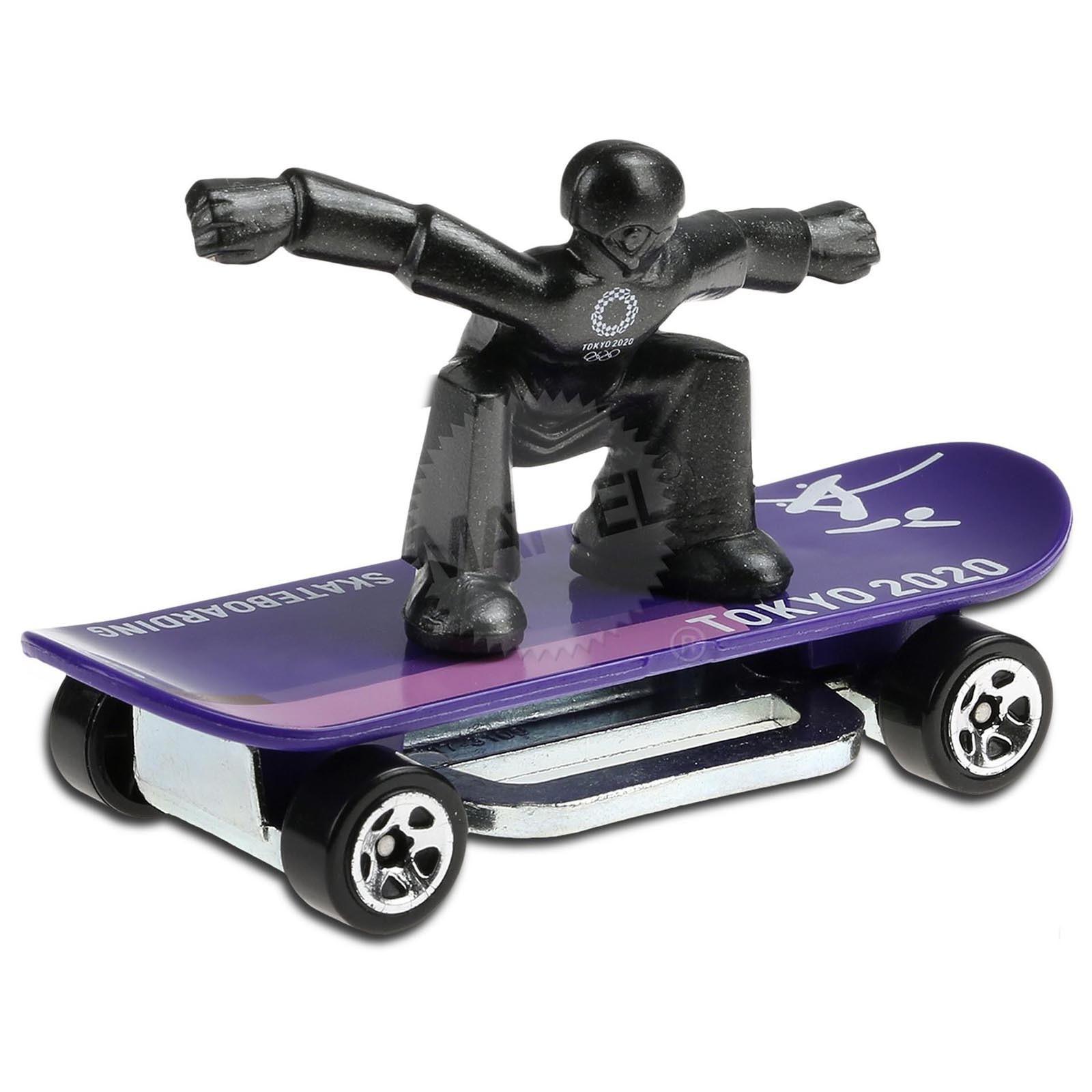 Carrinho Hot Wheels Skate Grom (QMFP4) Olympic Games Tokyo 2020