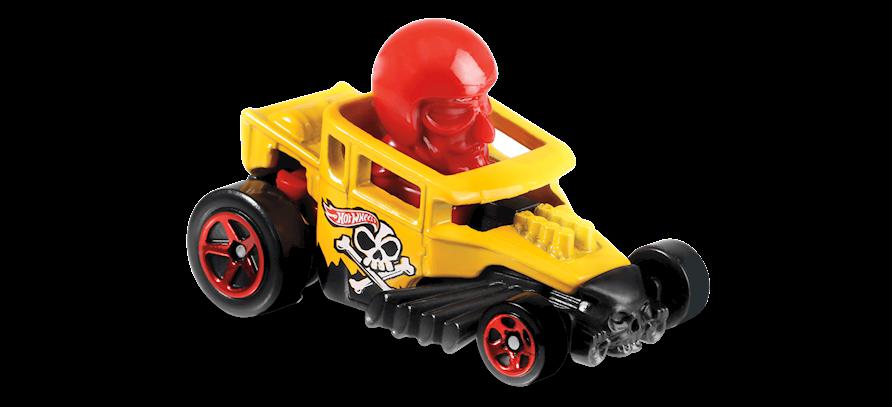 Carrinho Hot Wheels Skull Shaker (OGO9N) - Mattel