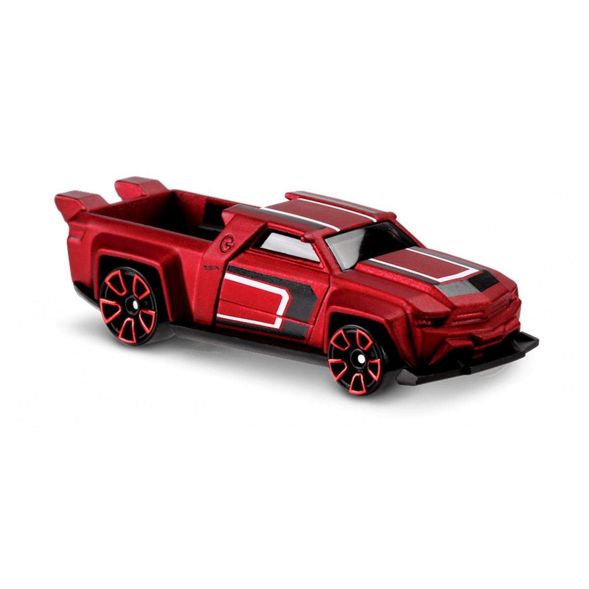Carrinho Hot Wheels: Solid Muscle Vermelho