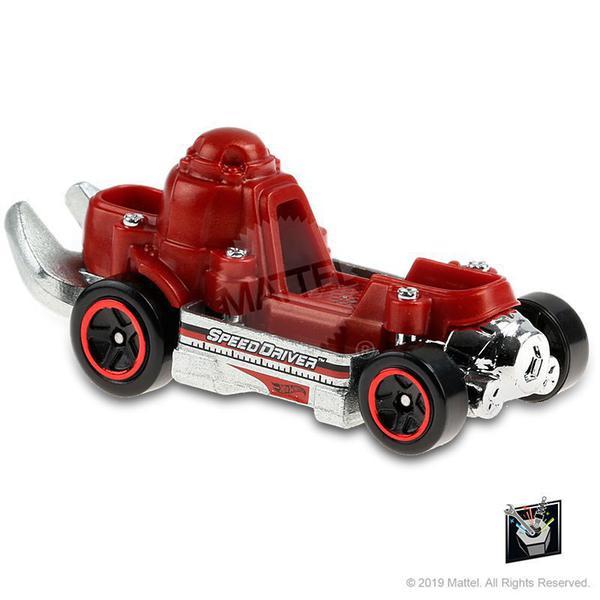 Carrinho Hot Wheels: Speed Driver Experimotors - Mattel